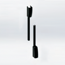 vertical rods and latch bolts  (Unico)