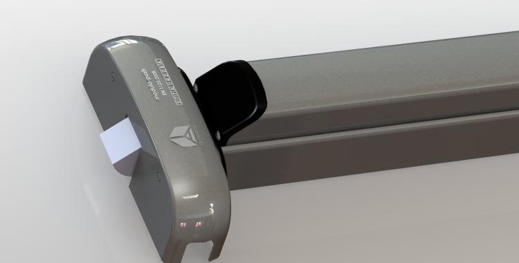 Push bar motorizzato acciaio