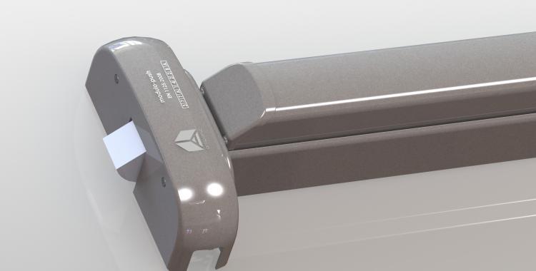 Push bar motorizzato grigio