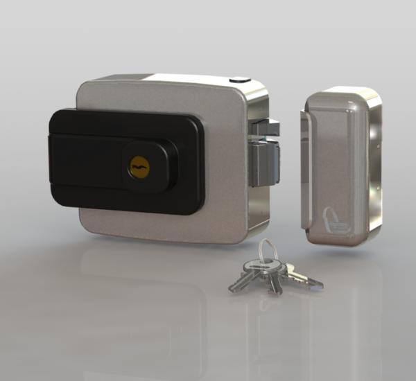 Oltre (con chiave) fronte - cilindro fisso