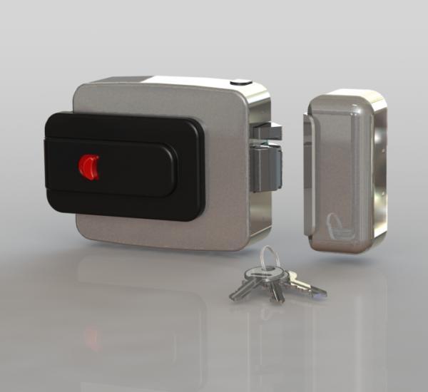 Oltre (con pulsante) fronte - cilindro fisso